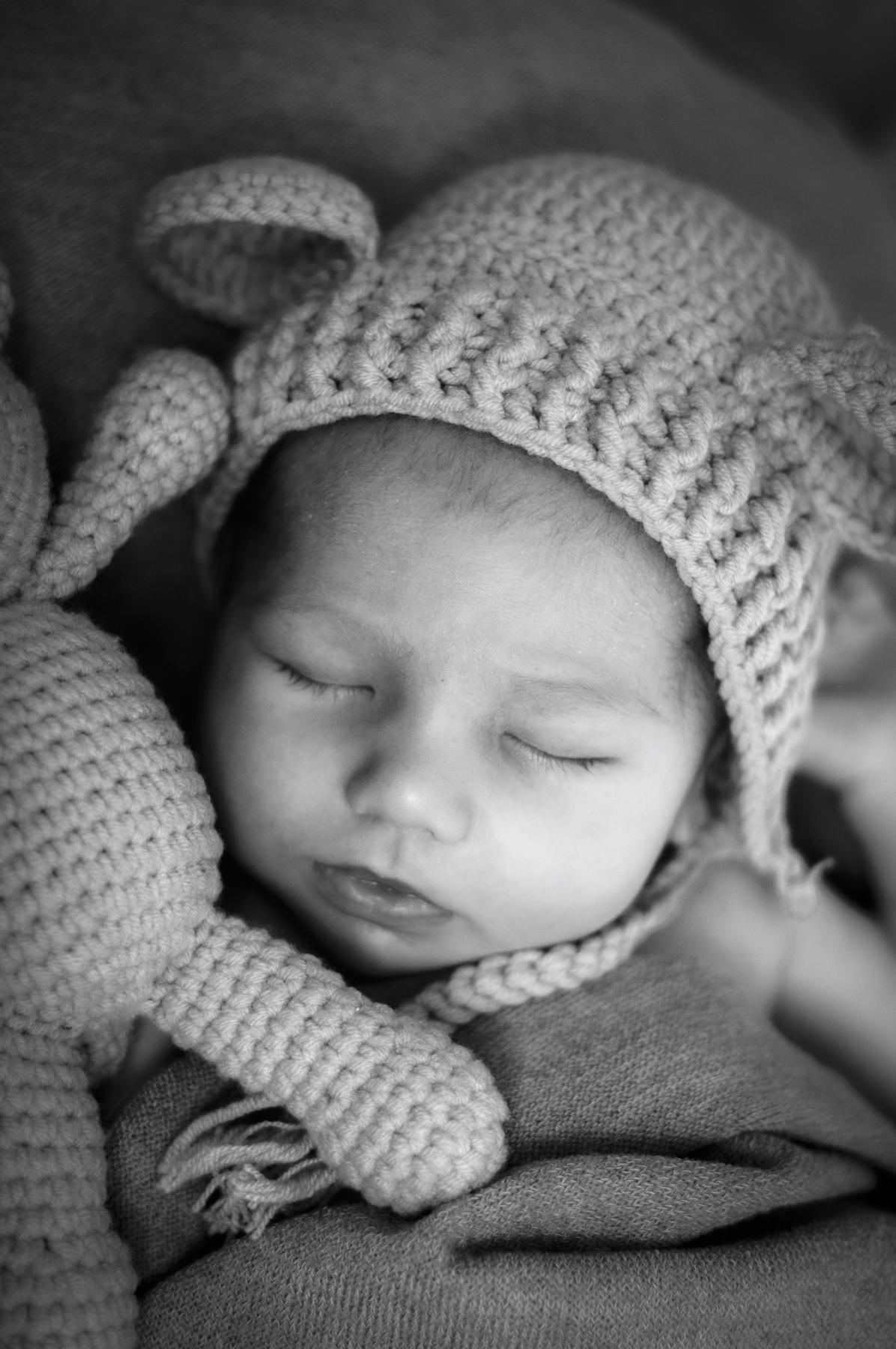 Stralende Newborn